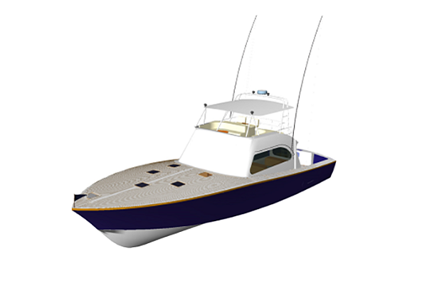 Luxury Game Fishing Boat